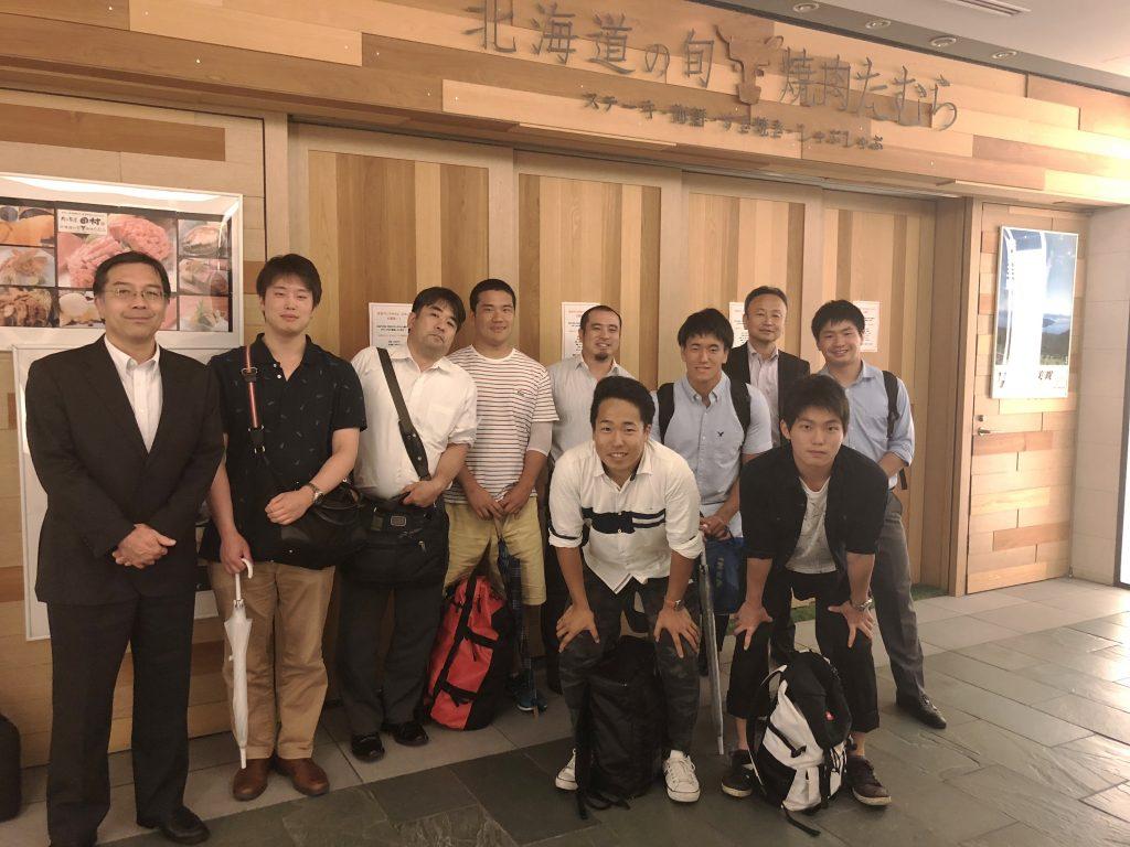 県千葉→東大ラグビー部の現役激励会
